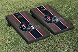 NFL Houston Texans Onyx Stained Stripe Version Football Cornhole Game Set, 24'' x 48'', Multicolor