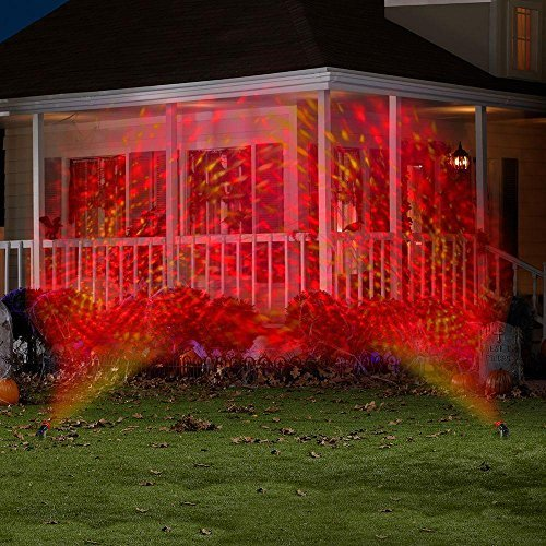 Gemmy Phantasm LED Red and Yellow Swirling Lightshow Spotlight Projection for $<!--$7.99-->
