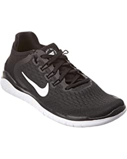 official photos 44a8d 22501 Nike Free Rn 2018 Sz 12 Womens Running Black White Shoes