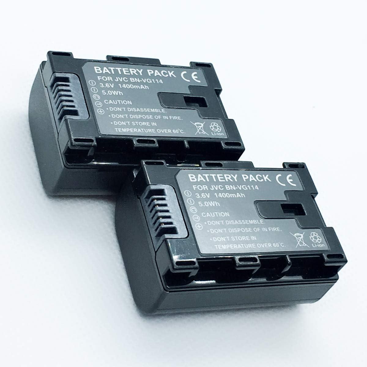 Bateria para JVC BN-VG108 BN-VG107 BN-VG114 BN-VG138 BN-VG121 890mAh