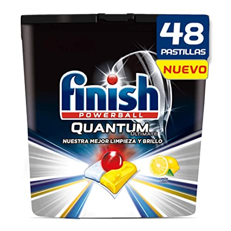 Finish Quantum Ultimate Detergente para Lavavajillas Limón ...