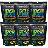 Love Your Health UP YOUR GAME Protein Snack Mix – Sea Salted, Honey Toasted, Dark Chocolate Covered Soy Nuts with Almonds – Dry Roasted, Healthy Snacks – Soy Protein Snacks for Men & Women – 6 Pck Review
