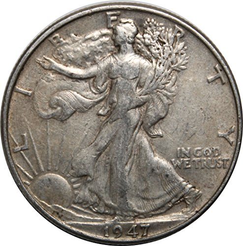 1947 P Walking Liberty Half Dollar 50c Very Fine (Walking Liberty Half Dollar Coin)