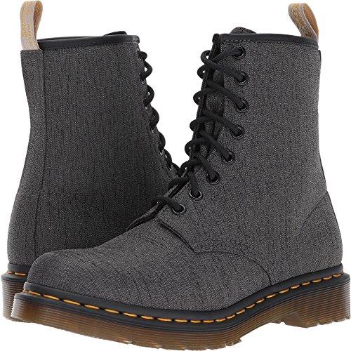 Vegan Castel Grey Fashion Boot, Gunmetal, 7 Medium UK (9 US) (Martens Gun)