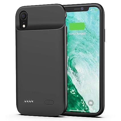 Amazon.com: Funda de batería para iPhone XR, 5000 mAh ...