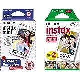 Fuji İnstax Mini 7-8-9-25 için Fotoğraf filmi 2 paket set