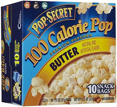 Microwave Popcorn: Pop-Secret 100 Calorie