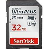 SanDisk ウルトラ プラス SDHC UHS-I カード 32GB  [国内正規品] SDSDUSC-032G-EPK [エコパッケージ]