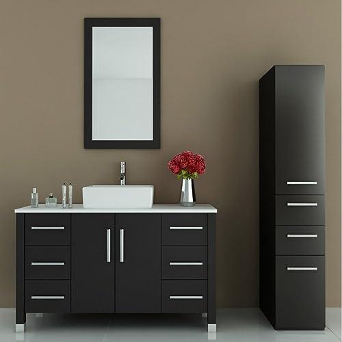 JWH Living Grand Crater 47.25 in. Single Bathroom Vanity