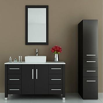 Jwh Living Grand Crater 47 25 In Single Bathroom Vanity Amazon Com
