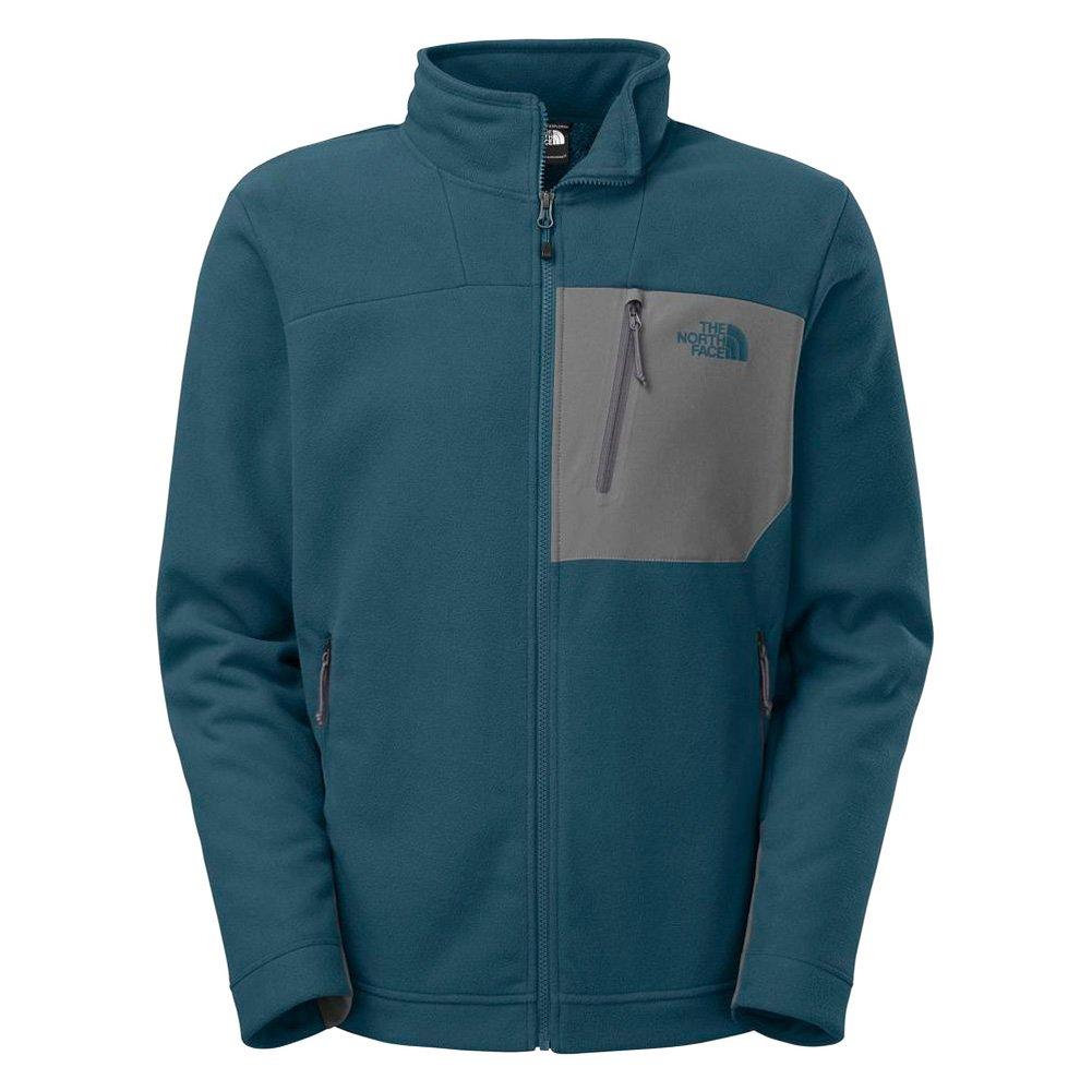 North Face Chimborazo Men's Outdoor Fleece Jacket Blue Size XL