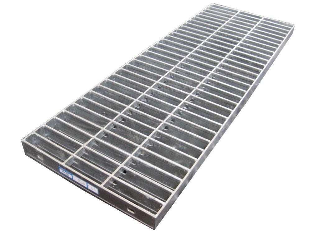 側溝用グレーチング(普及型) 受枠セット 適用みぞ幅300mm 長さ995mm 適用荷重:乗用車(T-2) HGB-400-32 B00D44OJ6K 11836