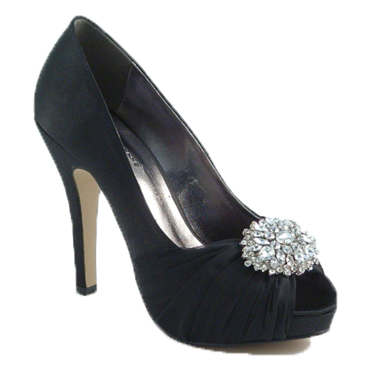 Absolutely Gorgeous Boutique - Zapatos con tacón mujer 37 1/3 EU|Negro