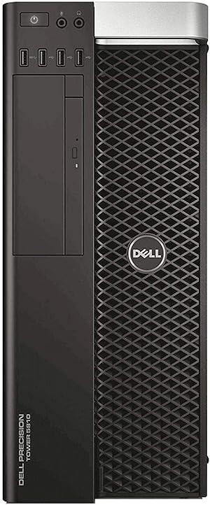 Dell Precision T5810 Workstation - E5-1607v3 3.1GHz QC 64GB 4TB K4200 W10Pro (Renewed)