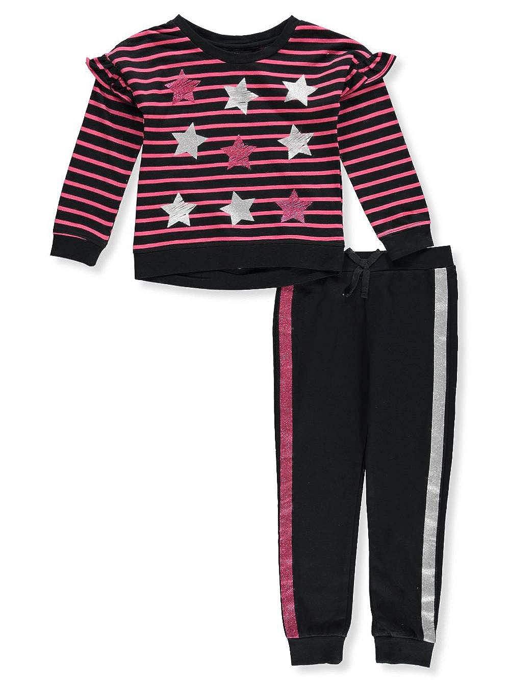 Kidtopia Girls' 2-Piece Pants Set Outfit