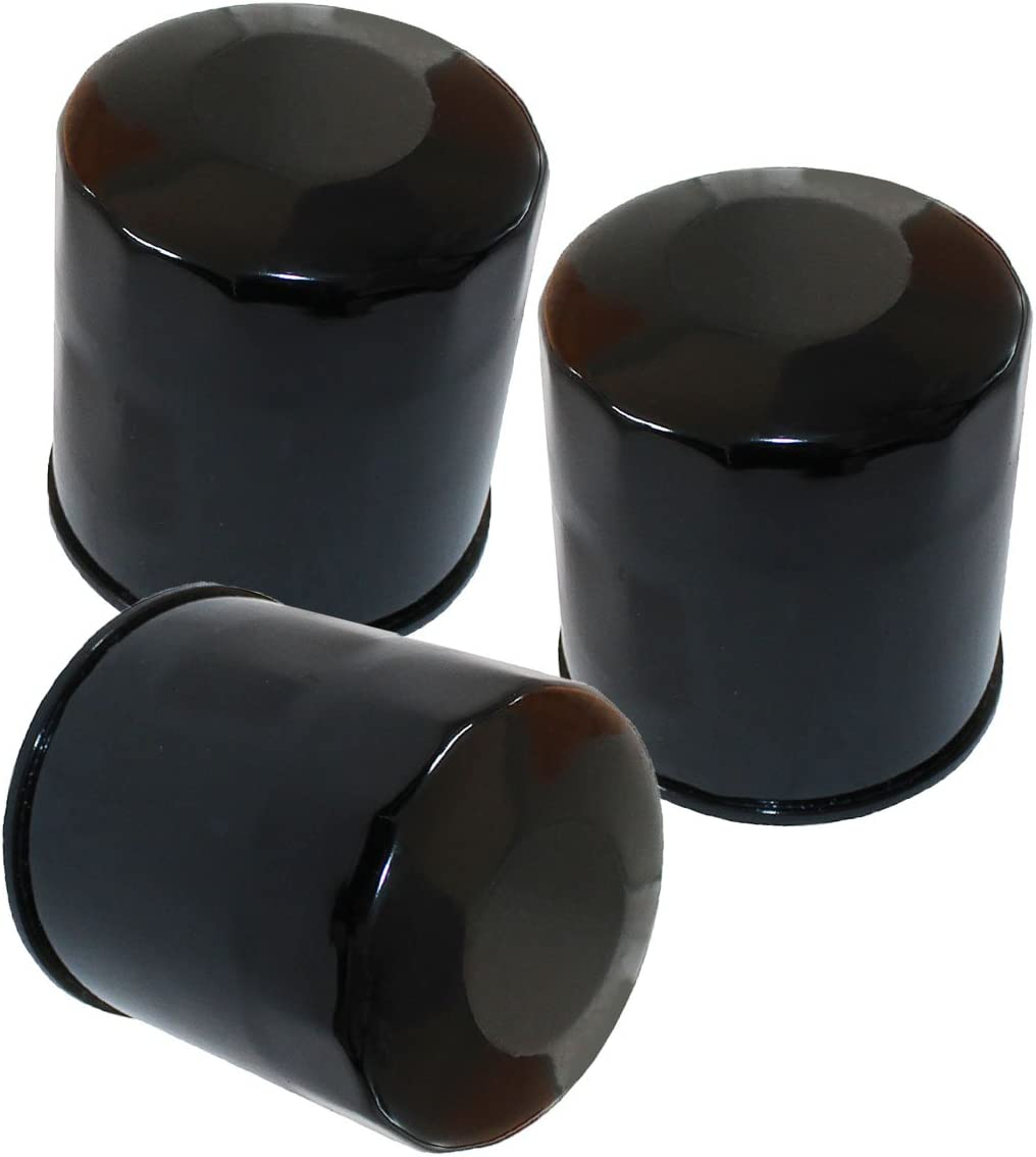 3 Pack Oil Filters Yamaha Rhino 660 4x4 YXR660 2004 2005 2006