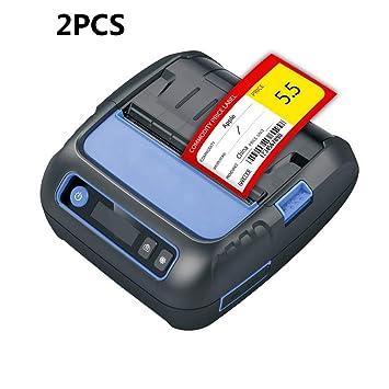 ZUKN Bluetooth Inalámbrico Impresora Térmica Hacer Etiquetas ...