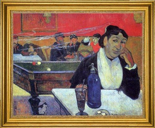 Cafe Gauguin Night - Paul Gauguin Night Cafe at Arles - 20.05