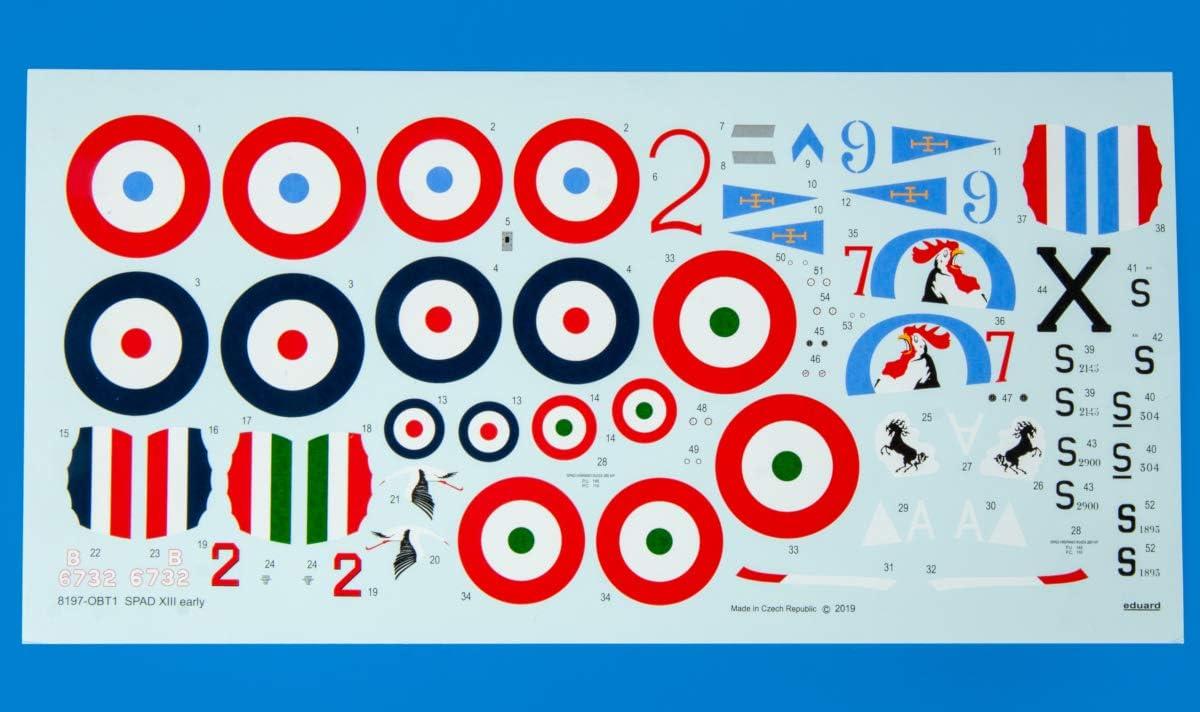 Spad XIII precoce Eduard Plastic Kit 8197