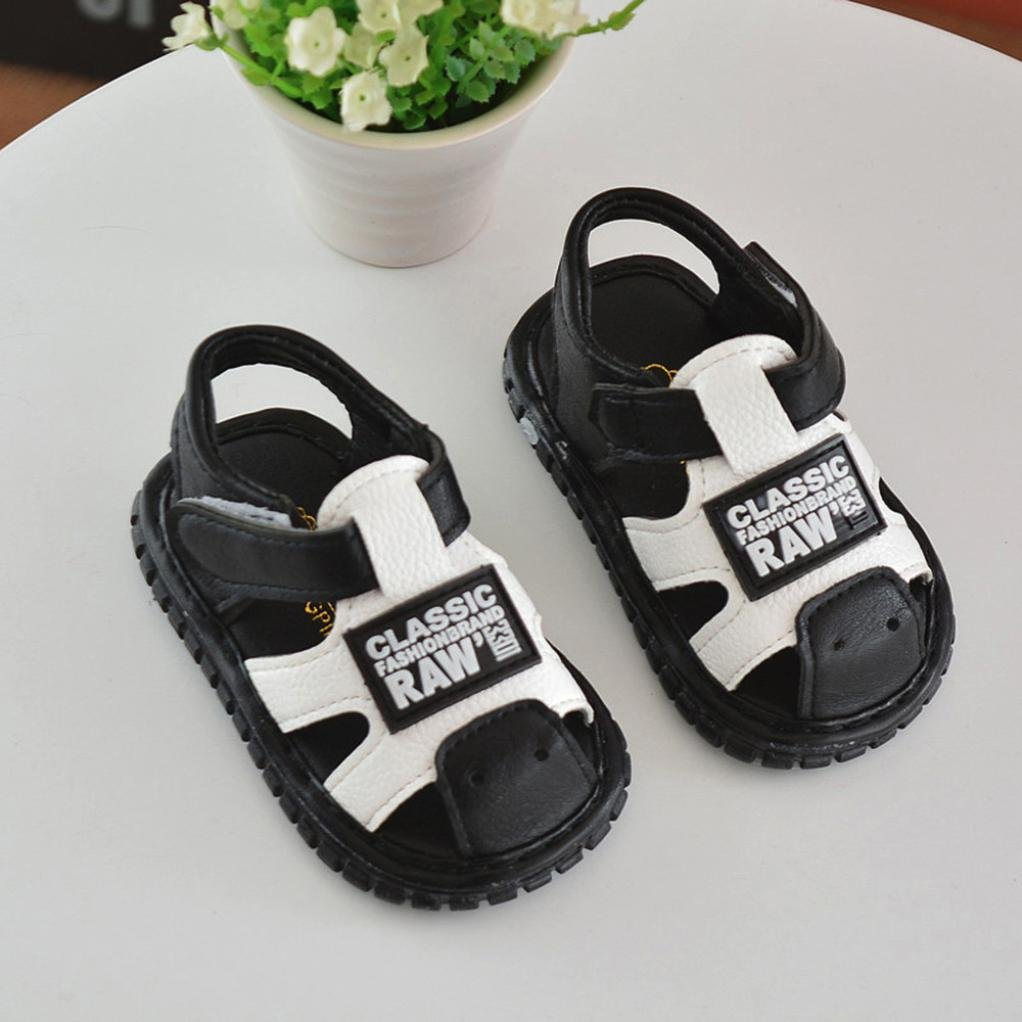 Fisherman Sandals for Toddler//Little Kids Voberry Boys Girls Leather Closed Toe Outdoor Sports Sandals