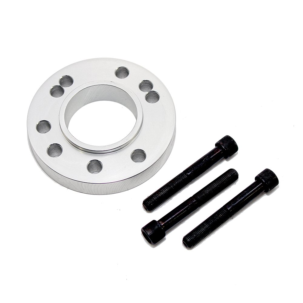 Assault Racing Products 2259 Glimer Crank Pulley Spacer with Bolts SBC BBC SBF BBF by Assault Racing Products