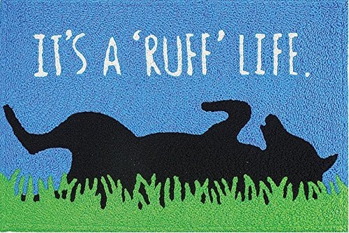 Its a Ruff Life Dog Mans Best Friend Washable 21 X 33 Area A