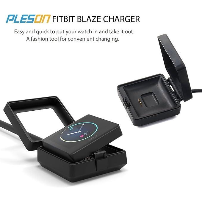 Fitbit Blaze de batería, PLESON Cargador de Repuesto ...