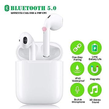 Auriculares Bluetooth Inalámbricos 5.0, Wireless Auriculares ...