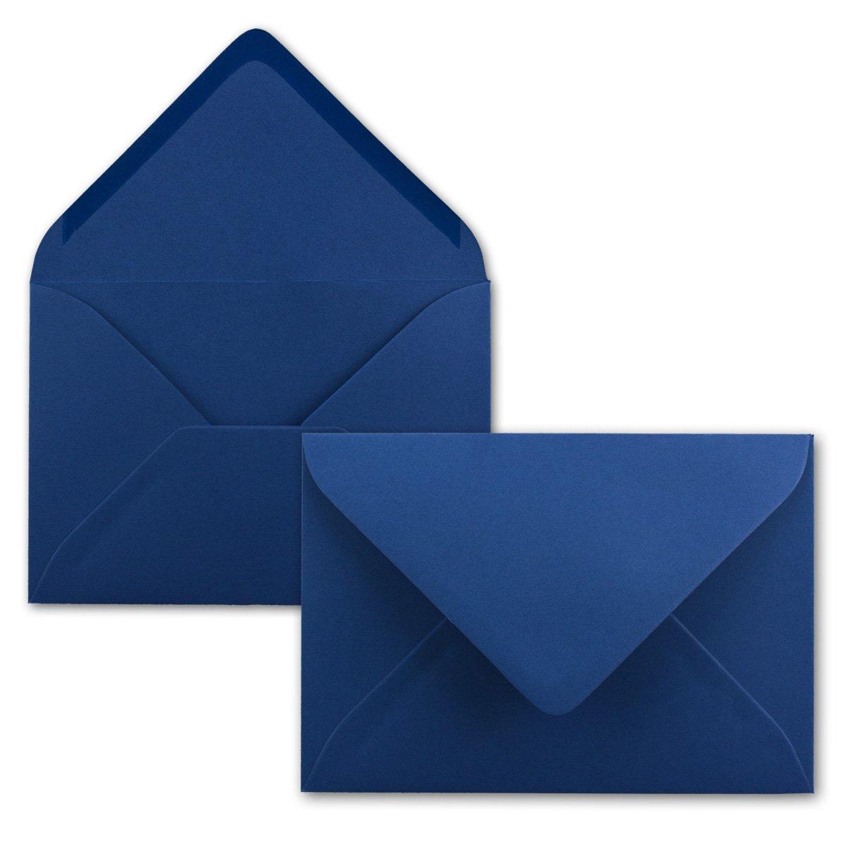 Brief-Umschläge in Nachtblau     150 Stück   DIN C5 KuGrüns 220 x 154 mm - Nassklebung ohne Fenster - Weihnachten, Grußkarten   Serie FarbenFroh® B07C97JKW9 | Elegant Und Würdevoll  a81c18