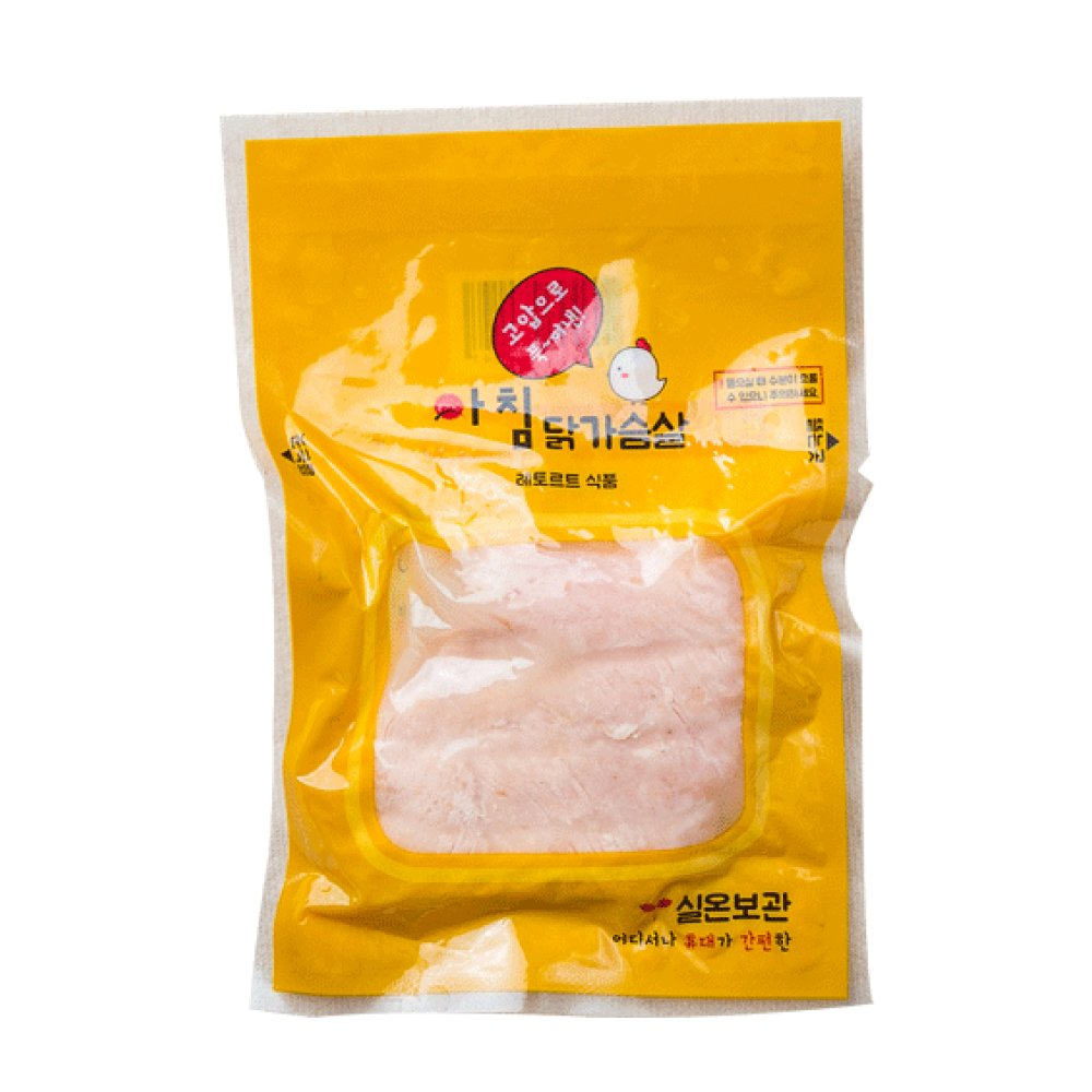 Achim Chicken Breast (No salt) - Low Fat and Perfect as a Protein Supplement after Exercising, a Light Meal, 1 box 10 packs