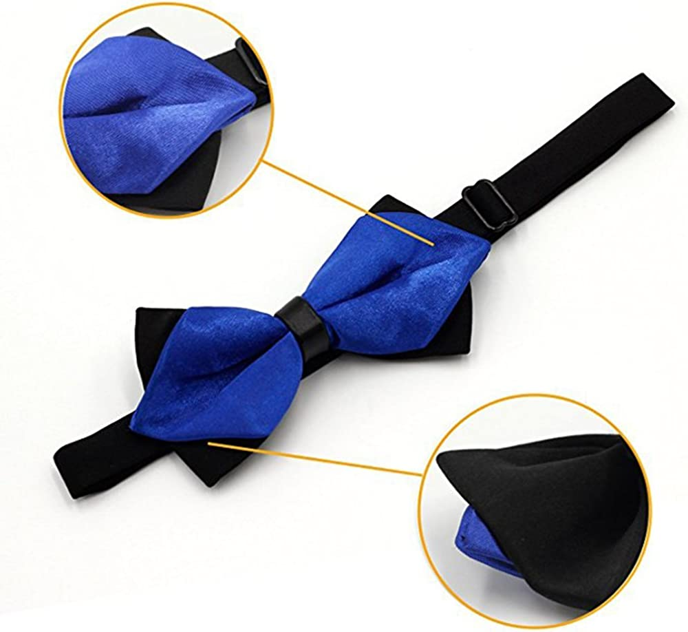 Holiday Party Adjustable Bowties Necktie for Business Wedding Party Gift