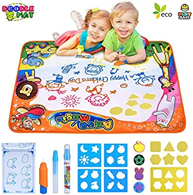 Aqua Magic Mat Extra Large Kids Toys Toddlers Painting Water Drawing Mats Gifts