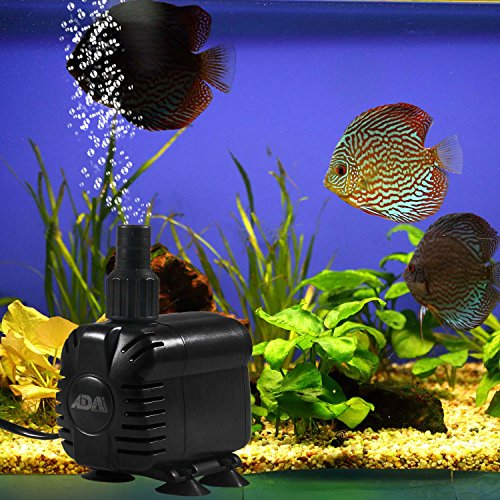 ADA-Water-Pump-1200LHr-15W-Mini-Submersible-Pump-for-Aquarium-Fish-Tank-Powerhead-Water-Feature-Tropical-Marine
