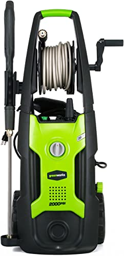 Greenworks 2000 PSI 13 Amp 1.2 GPM Pressure Washer
