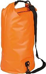 Idena 24003 Outdoor Wasserfest Rucksack Seesack, 30 Liter, orange