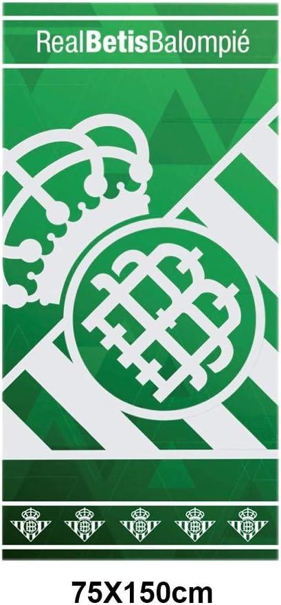 New Import Toalla de Playa algodón R Real Betis balompié 500gr: Amazon.es: Hogar