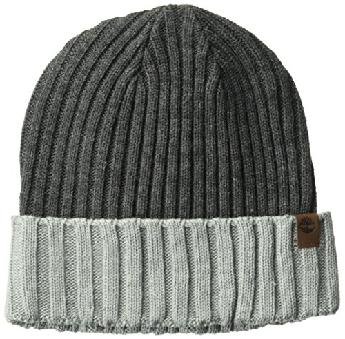 Timberland Mens Color Blocked Watchcap Beanie