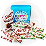 The Ultimate Aero Chocolate Lovers Happy Birthday Gift Box - By Moreton Gifts - Aero Share Bar, Pouch, Bubbles, Mint