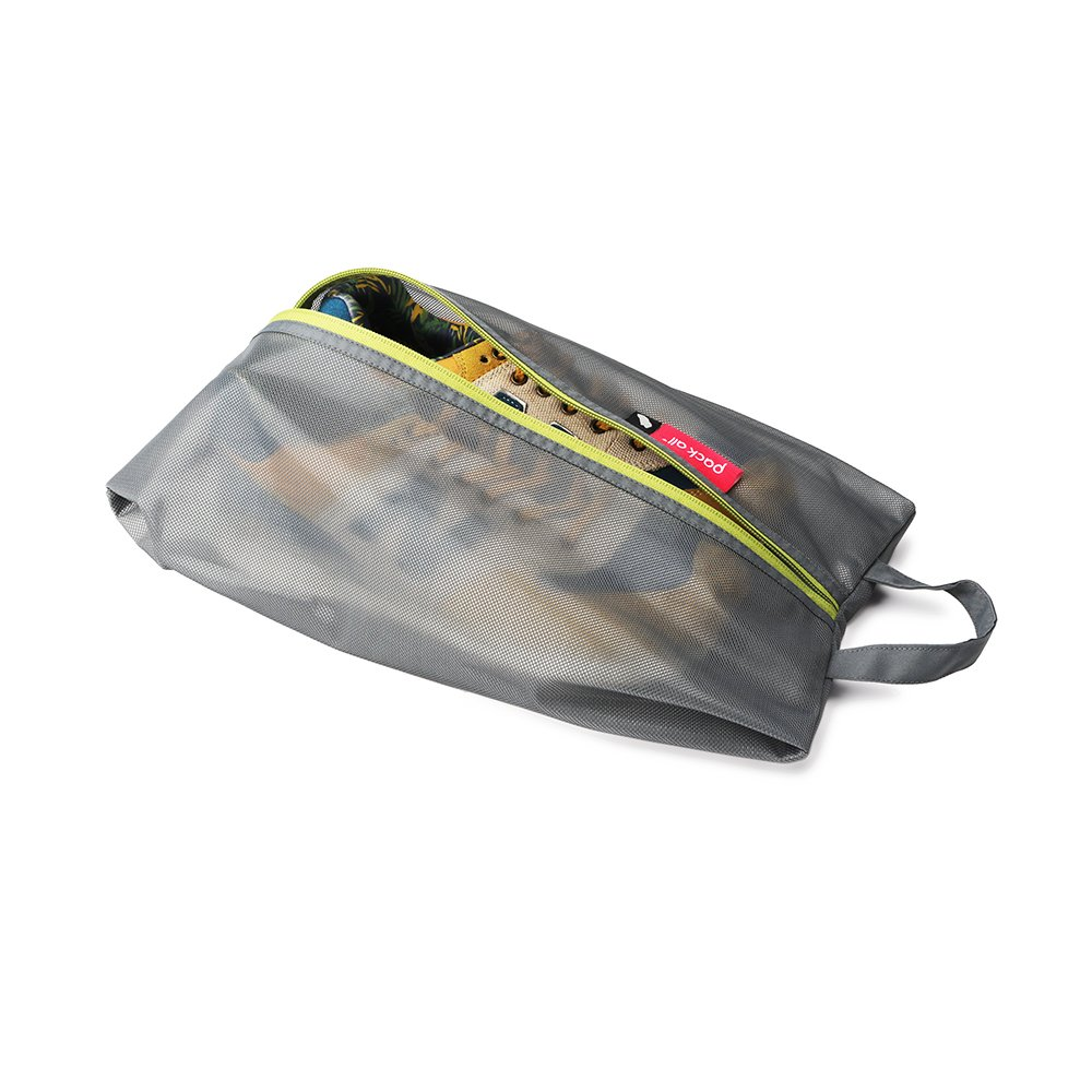 PACK ALL Water-Risistant Light Shoes Pouch (Grey) by pack all (Image #3)