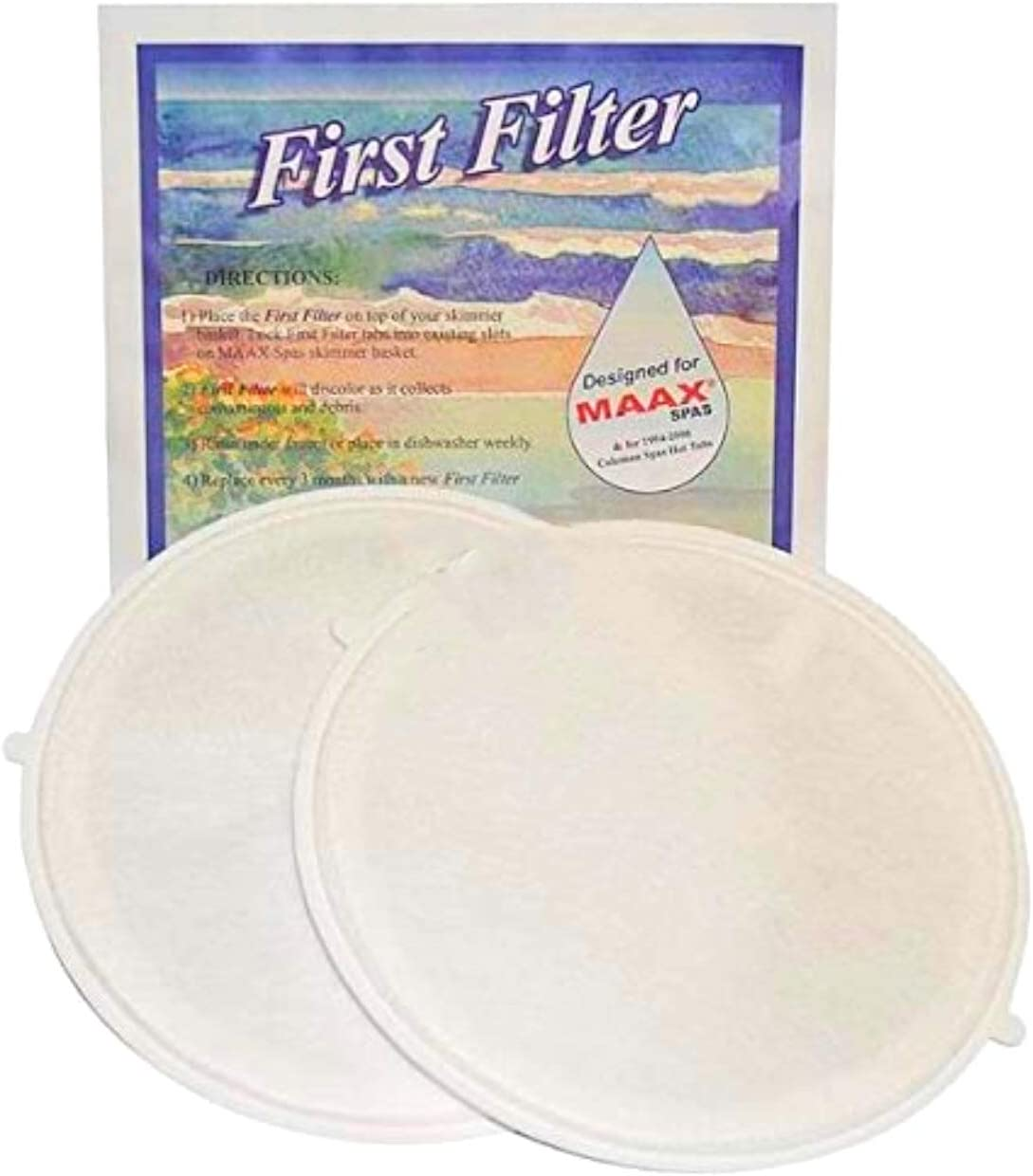 Hot Tub Classic Parts First Filter Maax/Coleman Spas Firstfilter-1