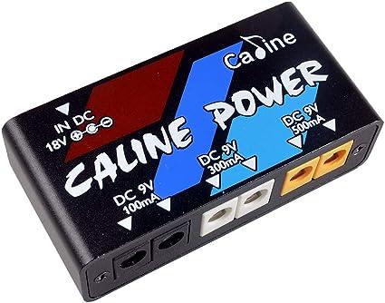 Caline - Fuente de alimentación para pedal de guitarra eléctrica ...