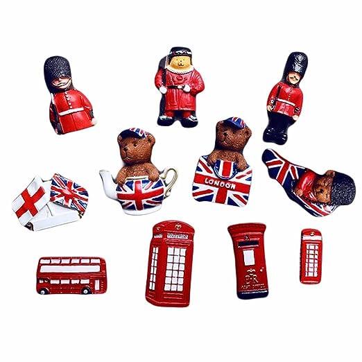 Cool imán para nevera Londres Vintage estilo Super juego de imanes ...