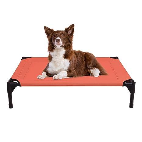 Veehoo Cama Elevada para Perro Mediano, Cama Perro Impermeable, Cómodo Cama para Mascotas,