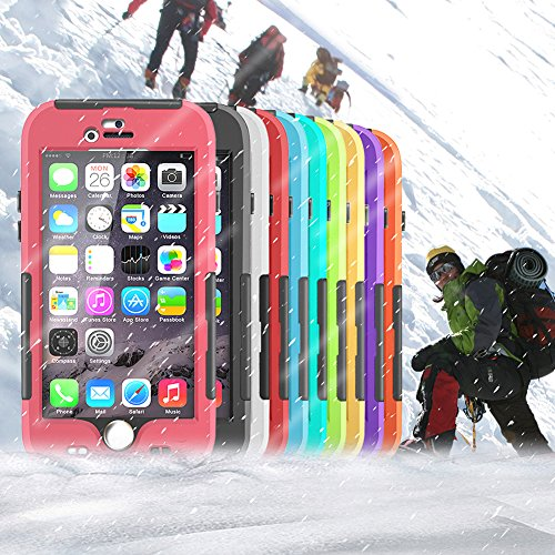Almatess® Ultrathin iPhone 6 6S Case iPhone 6 6S Waterproof Case iPhone 6 6S Hard Case Cover with Touch Responsive Function Designed for Water Sports (iPhone 6/6S 4.7 inch)