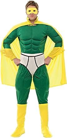 ORION COSTUMES Disfraz de Superhéroe Capitán de Ropa Interior ...