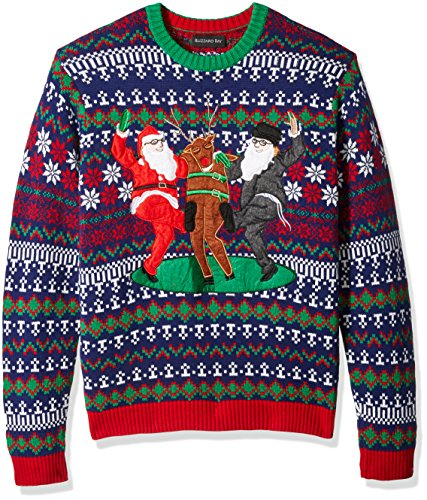 Blizzard Bay Men's Holiday Squad Ugly Christmas Sweater,, used for sale  Delivered anywhere in USA