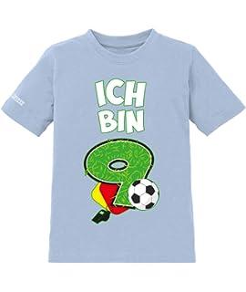 Ich Bin 8 Fussball 8 Geburtstag Jungen Kinder T