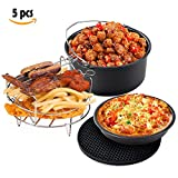 StarsTech Non-Stick Air Fryer Accessories Set for All Brand...