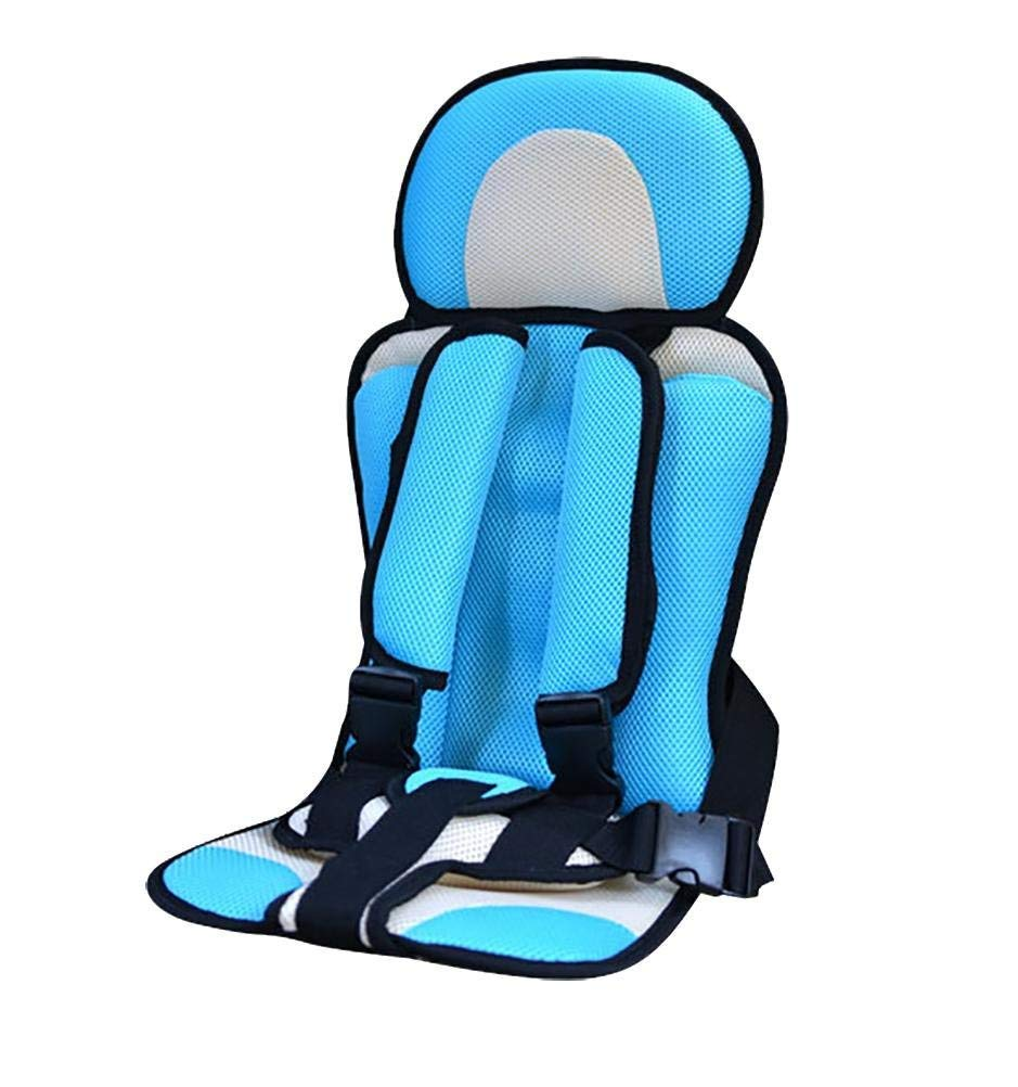 TRNMC TRNMCMC Car Child Safety Cover Harness Repositions Strap Adjuster Mash Pad Kids Seat Belt Seatbelt Clip Booster Adult Children Seat Belt Clips,Blue
