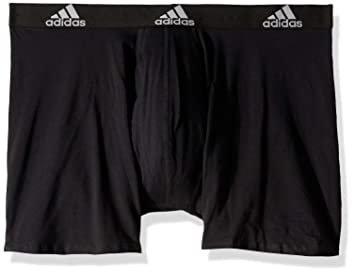 Hija Triturado Planificado  adidas Men's Stretch Cotton Boxer Brief (3-pack) Underwear: Amazon.co.uk:  Clothing